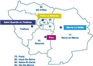 Carte IDF Ascencia