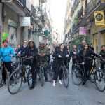 visite, vélo, Madrid, étudiants, Ascencia